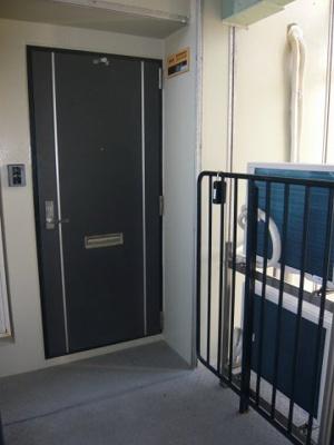 【玄関】芦屋浜第二住宅6-2号棟