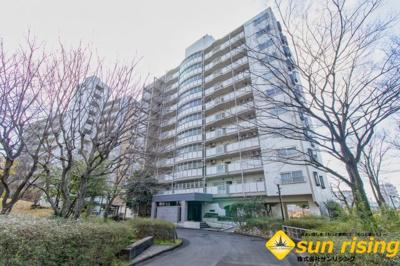 【外観】西武拝島ハイツ 5号棟
