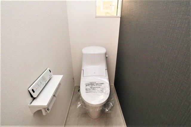 落ち着いたトイレです 現地(2021年05月)撮影