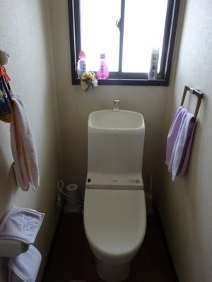 【トイレ】中古戸建 四條畷市清滝中町(昭和62年築)