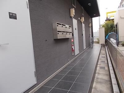 【エントランス】シェモワ笹塚