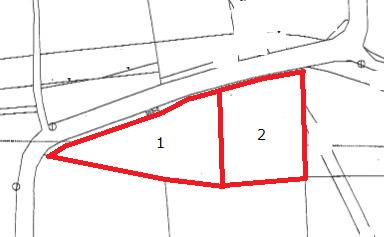 2区画分譲地