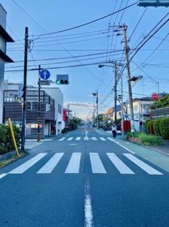 周辺道路(一中通り)2020年5月4日撮影