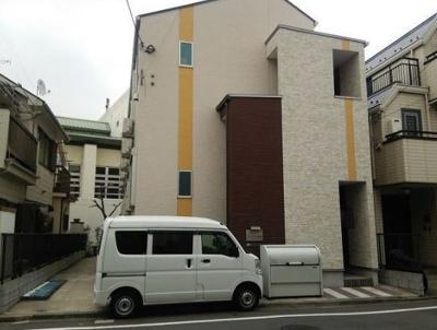 シルバーコート羽田の建物外観を気になさる方へ、見た目の良い物件です☆