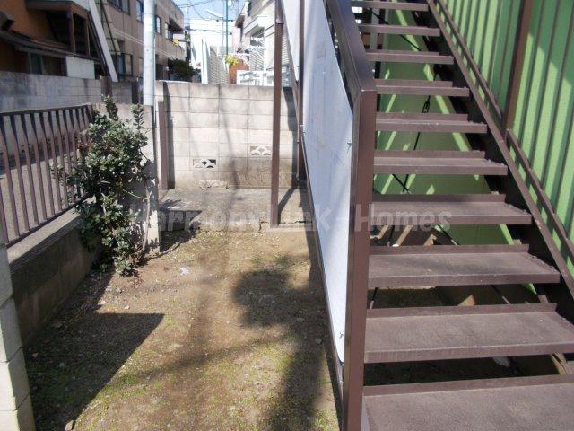 ベルメゾンの階段