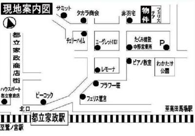 フェリスプロミスの地図☆