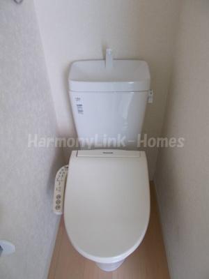 フェリススイートピーのコンパクトで使いやすいトイレです