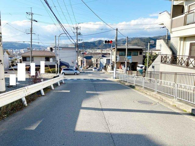 【前面道路含む現地写真】京都市山科区大塚丹田
