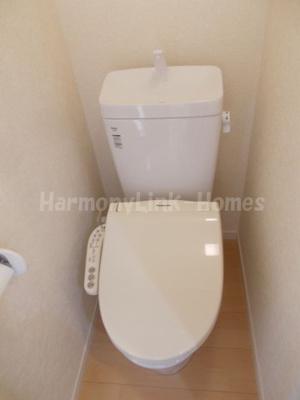フェリスワルツのゆったりとした空間のトイレです