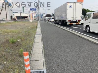 【前面道路含む現地写真】神崎郡福崎町 売土地