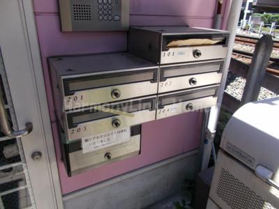 グレースミーナの郵便ボックス