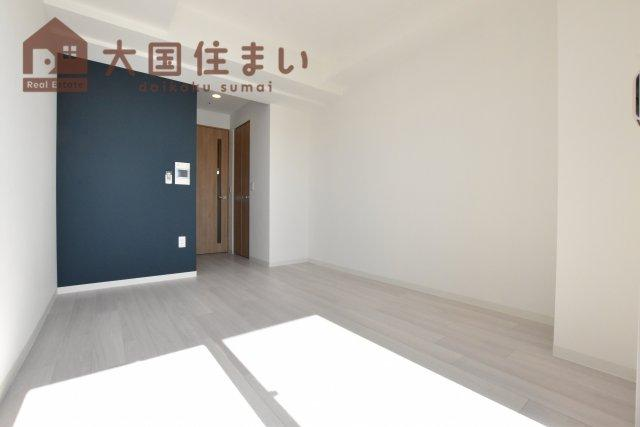 【居間・リビング】ファーストフィオーレ難波南パークサイド