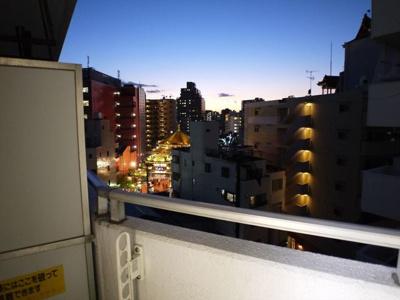 【展望】山下公園サンライトマンション弐号棟