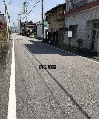 【前面道路含む現地写真】南国市立田