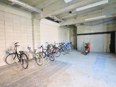 自転車置場完備