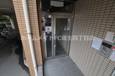 【エントランス】マ・メゾンYS桜ノ宮