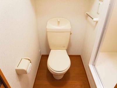 【トイレ】レオパレス紅雪北