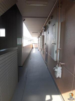 共用通路です(2階部分)