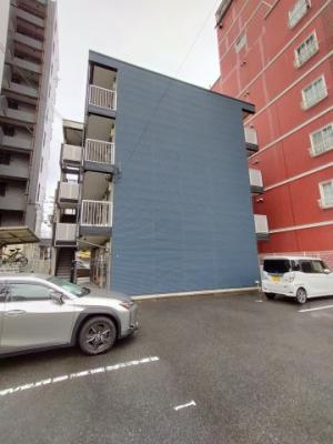【外観】レオパレスラピスラズリ高井田