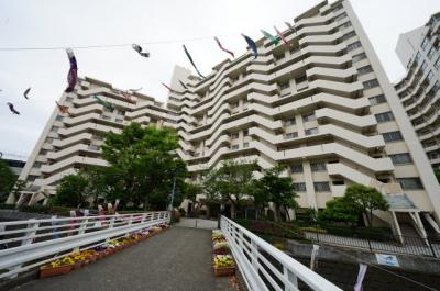 【外観】天王町スカイハイツ5号棟