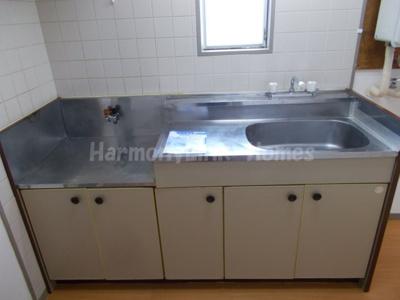 ベルフルール目白台のコンパクトなキッチンで掃除もラクラク(別部屋参考写真)