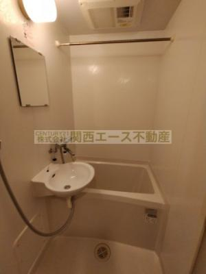 【浴室】レオパレス清香