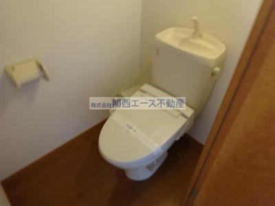 【トイレ】レオパレスマエダ