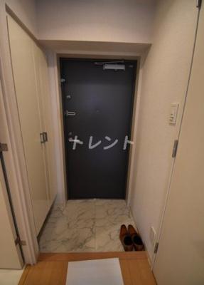【玄関】コンフォリア麻布十番