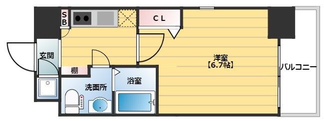 レジュールアッシュ梅田NEX