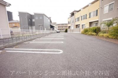 【駐車場】パームガーデンA