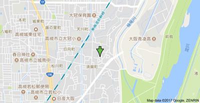 【地図】上場貸家(東)(株)Roots