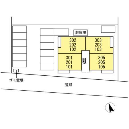 【区画図】コンフォール コート