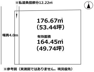 【土地図】宝木町2丁目・売地