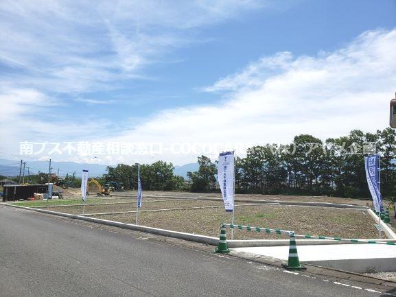 上宮地10区画分譲地  2020年7月完成  区画①