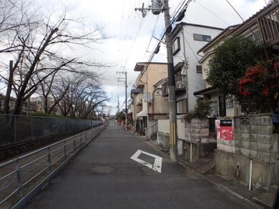 【前面道路含む現地写真】向島ニノ丸町