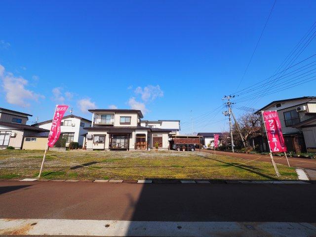 【外観】大仙市富士見町 A区画 よねや富士見町店まで車で2分300m
