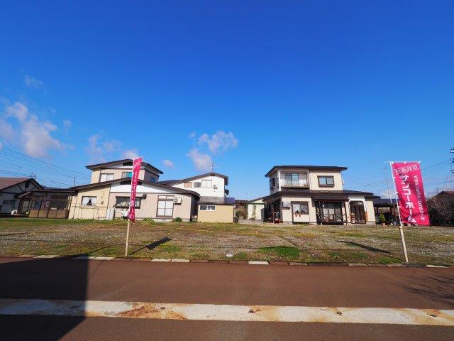 【外観】大仙市富士見町 B区画 花館小学校や大曲中学校、ショッピングセンターが近い便利な立地です!