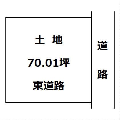 【土地図】大仙市富士見町 B区画 花館小学校や大曲中学校、ショッピングセンターが近い便利な立地です!