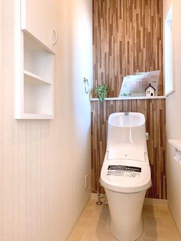 明るいトイレ(^^)v