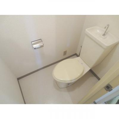 【トイレ】ハイツビクトリー