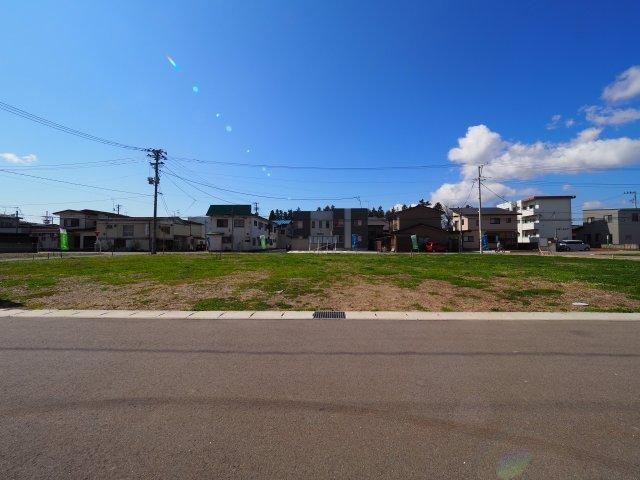 【外観】大仙市大曲福住町分譲地 No.11 大曲駅やスーパー、総合病院に徒歩圏内