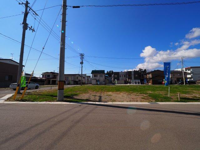 【外観】大仙市大曲福住町分譲地 No.12 大曲駅やスーパー、総合病院に徒歩圏内
