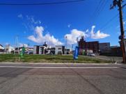 大仙市大曲福住町分譲地 No.9 大曲駅やスーパー、総合病院に徒歩圏内の画像