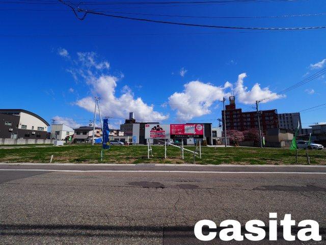 【外観】大仙市大曲福住町分譲地 No.8 大曲駅やスーパー、総合病院に徒歩圏内