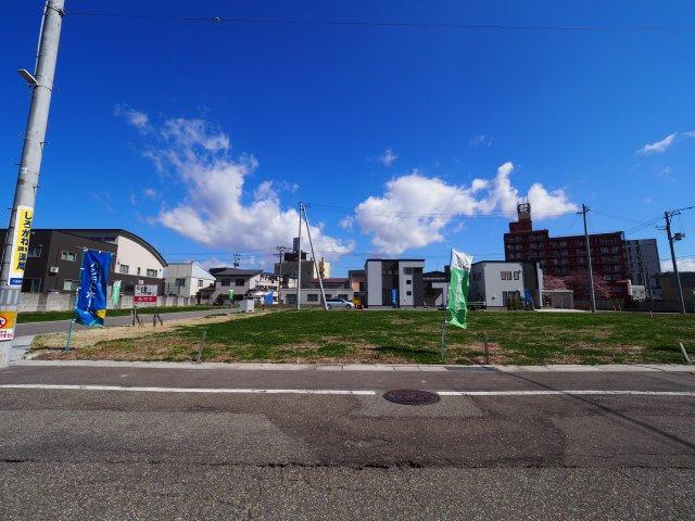 【外観】大仙市大曲福住町分譲地 No.7 大曲駅やスーパー、総合病院に徒歩圏内
