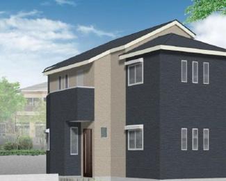 外観パースです 新築戸建 4LDK JR鶴見線「国道」駅徒歩7分 吹抜け天井 2階建 グルニエ付き