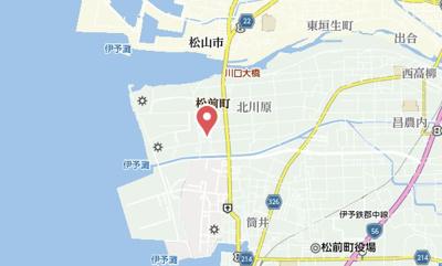 【地図】北川原ガレージハウス