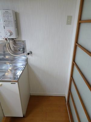 根岸マンション 冷蔵庫置き場