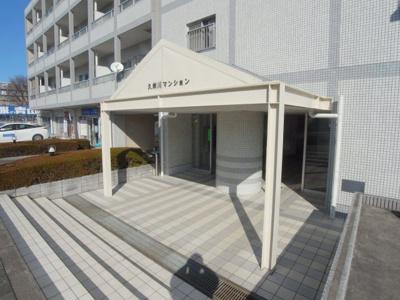 久米川マンション エントランス