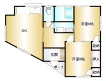 桜町貸家(平屋)の画像